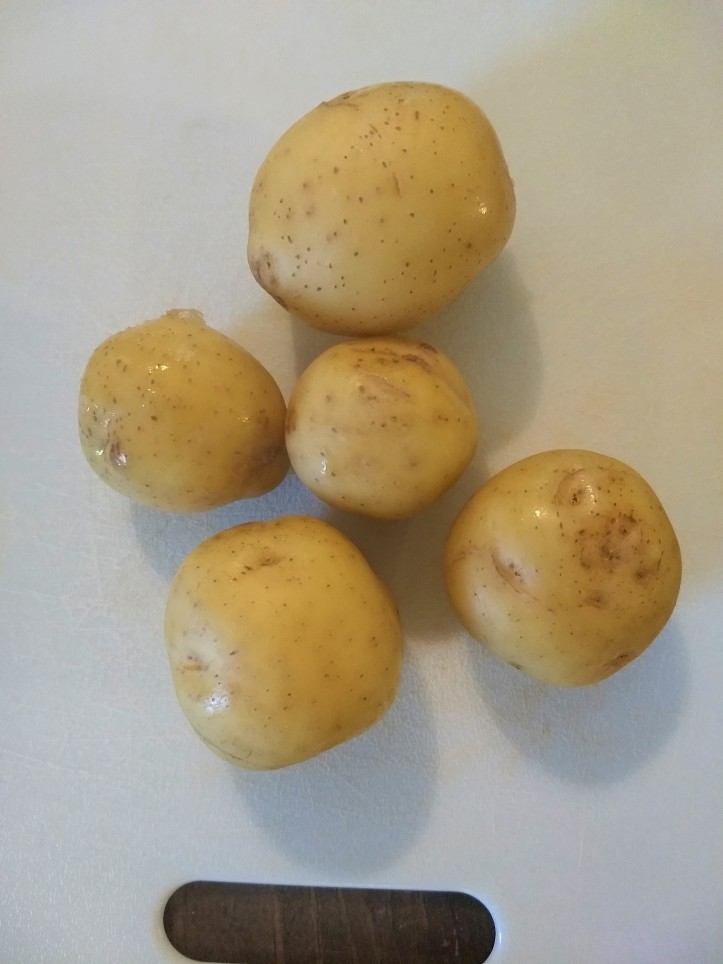Blue Apron potatoes
